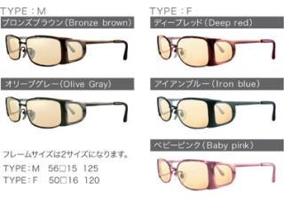 遮光眼鏡オーバーグラス (1ページ目) CCP400 Viewnal by STG 東海光学